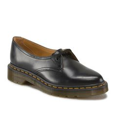 Doc Martens Look what I found on #zulily! Black Siano Leather Oxford #zulilyfinds