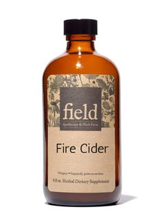 Field Apothecary & Herb Farm: Fire Cider Tonic