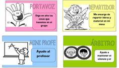 Descargar >> MATERIALES ÚTILES PARA PONERLO EN MARCHA PASOS A SEGUIR PARA PONERLO EN MARCHA NORMAS ESENCIALES PARA QUE SE DE EL TRABAJO COOPERATIVO Saber Mas>> PROFUNDIZA MÁS EN … Bilingual Classroom, Classroom Rules, Spanish Classroom, Teaching Spanish, Teaching Activities, Classroom Activities, Teaching Tools, Teaching Ideas, Cooperative Learning Strategies