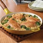 Campbell's® Quick and Easy Chicken, Broccoli and Brown Rice Dinner Recipe. Quick and easy