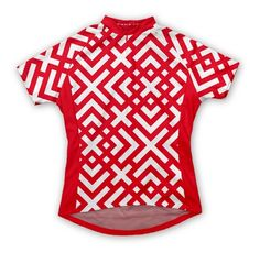If Tori Burch designed bike jerseys, I think it would look something like this.