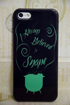 """Iphone 4/5/5c/6/6+ Samsung S3/S4/S5/S6/S6edge/S3&S4 mini """"Support Snape"""" Harry Potter Inspired Cell Phone Case, Slytherin, Severus Snape by TheElliottsCloset on Etsy"""