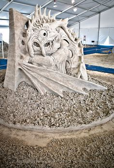 sand carvings   Flickr - Photo Sharing!