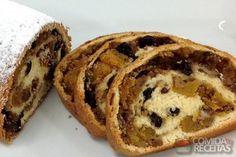 Receita de Stolen (panetone alemão) em receitas de bolos, veja essa e outras receitas aqui!