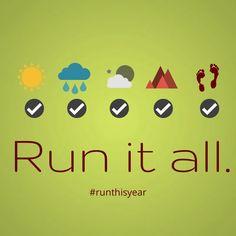 Run this year