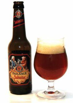 Paulaner Salvator - treściwy, pełny smaków i aromatów koźlak podwójny z popularnego niemieckiego browaru.