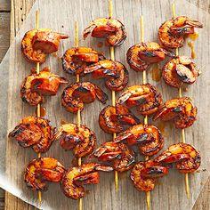 Shrimp and Chorizo Kabobs Tequila Shrimp Nachos Shrimp Tacos with Lime ...