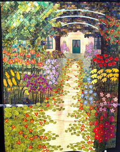 Monet's Garden by SUPPOSE - create - delight, via Flickr