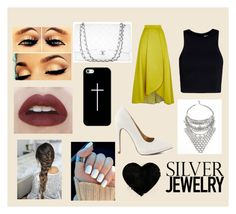 """""""#SILVER #JEWELRY"""" by leuchi ❤ liked on Polyvore"""