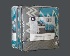 selected bedding packaging on Behance