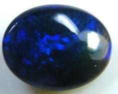 BLACK OPAL IDEAL RING STONE GREEN HUES . .60   CTS   QO 2351, black opal, lightning ridge black opal, Australian opal