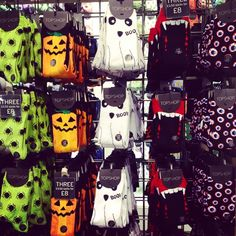 Boo! Ring in the Halloween season with a spooky pair of socks. #topshop #halloween #pumpkin #spider #socks #topshopsocks #trickortreat