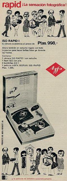 Cámara Agfa. Año 1964