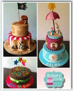 Chia, Bakery, Birthday Cake, Cupcakes, Facebook, Desserts, Food, Parties Kids, Beverages