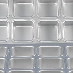SQUARE BROWNIE / MUFFIN PAN Square Cupcakes, Ice Cube Trays, Muffin, Ice Makers, Cupcakes, Muffins