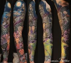 nightmare before christmas sleeve.....oh.my.lord!
