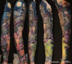 L'étrange noël de Mr Jack, Tim Burton Tattoo!