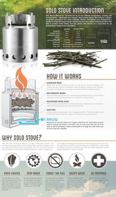 Amazon.com : Solo Stove Wood Burning Backpacking Stove - Ultra Light Weight Compact Design Perfect for Survival, Camping, Hunting & Emergency Preparation. : Sports & Outdoors