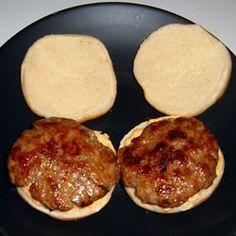 Seasoned Turkey Burgers Recipe - Allrecipes.com