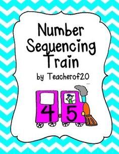 "This train game has cards with the number before and the number after. Students must find the missing number from a set of train cars, and place it in the missing blank to complete the train. The numbers in this game are ranging from 1-12. The cards come in color and black and white, and includes 12 train cards, and 12 ""missing number"" cards."