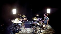 Watch this #GoPro Awards moment from Aric Improta of the Night Verses, who nails the drum solo AND seamlessly incorporates a backflip into his set!