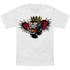 74d59fec2 Shop Conor Mcgregor - Notorious Gorilla chest tattoo t-shirts designed by  Immortalized as well as other chest tattoo merchandise at TeePublic.