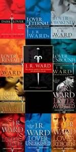 Don't be fooled by the cover art... these are not romance novels lol. Yes it has some romance but The Black Dagger Brotherhood Series is a a world that JR Ward has created that I can't get enough of. Fantasy = blood, war and love.