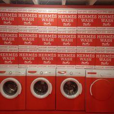 Hermès Wash en la exposición La Maison des Carrés