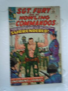 SGT. FURY and the HOWLING COMMANDOS