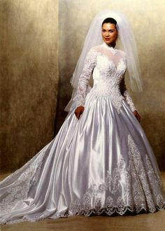 eve of milady wedding dresses 1988 \ 1988 wedding dresses + eve of milady wedding dresses 1988 Eve Of Milady Wedding Dresses, Bridal Wedding Dresses, Bridal Style, Beautiful Wedding Gowns, Beautiful Dresses, Vintage Gowns, Dressing, Outfit, Couture
