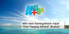 Willen jullie een heerlijke huwelijksreis naar Aruba winnen en breng je, in verband met de bruiloftsplanning, tóch al veel tijd op Pinterest door