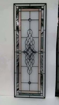 Stained Glass Door, Stained Glass Crafts, Stained Glass Panels, Door And Window Design, Door Design, Wall Design, Glass Etching Designs, Beautiful Front Doors, Wood Glass