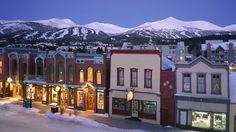 Breckenridge Colorado, a beautiful town, great skiing and so many fun things to do!