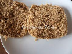 pan integral Receitas da Romy: Microondas