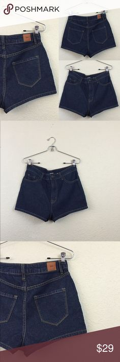 """Urban outfitters BDG shorts • urban outfitters BDG high rise Erin  • Size 29 waist measures 16"""" • Total length 12"""" • Worn once no damages Urban Outfitters Shorts Jean Shorts"""