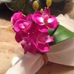Porta Guardanapo Mini Orquidea Pink - Portaguardanaposonline
