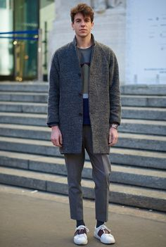 Milan smart casual style 2016