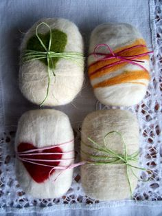 Felting soap.