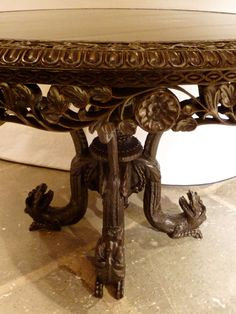 round indian table - Google Search
