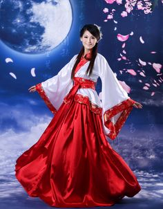 Dance Costume Chinese ancient clothing tang suit cosplay hanfu bamboo expansion skirt women's photography clothes(China (Mainland))