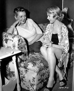 Sandra Dee and Mary Astor