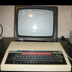 This is what are computers looked like in school.