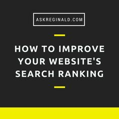 Want to increase and improve your website search ranking on Google? Here are 4 tips you can use right now. http://askreginald.com/seo-in-2015-how-to-rank-on-google/ #seo #searchengine #seotips