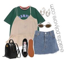"""""""Untitled #855"""" by evalofra on Polyvore featuring Chicnova Fashion, Club Monaco, Vans, Moschino, Gucci, outfit and ootd"""