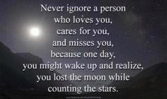 Some people need to read this before they lose someone important.