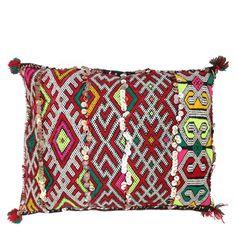 kilim, pillow, morocco, handmade