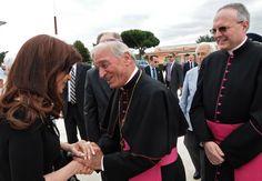 La primera foto de Cristina en Roma