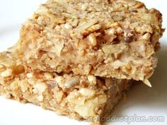 Apple & Pear, Almond & Oat Snack Jacks - Candida Diet Plan