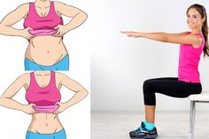 [ sponsored advertising ] These 5 simple chair exercises are a perfect example. Watch the video made by fitness trainer Denise Austin to see how to keep in shape while you're busy. Try the exercises. Reduce Belly Fat, Burn Belly Fat, Loose Belly, Want To Lose Weight, Reduce Weight, Denise Austin, Chair Exercises, Ab Exercises, Ab Workouts
