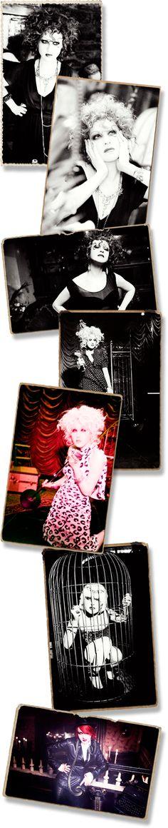 Cyndi Lauper--faery queen